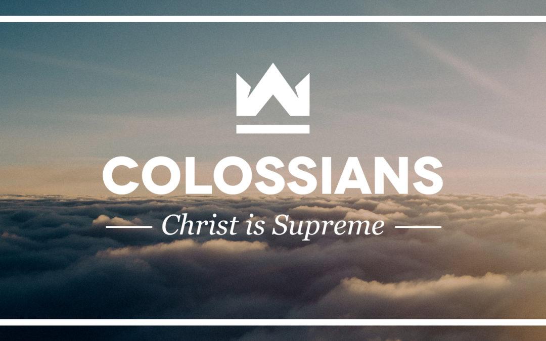 Colossians Lesson 6, of 6